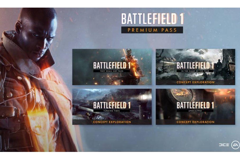 Videojogos - Expansões para Battlefield 1: mais mapas, mais armas