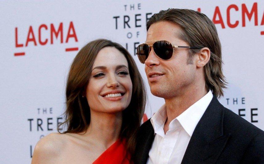 Brad Pitt apanhado a entrar em casa de Angelina Jolie