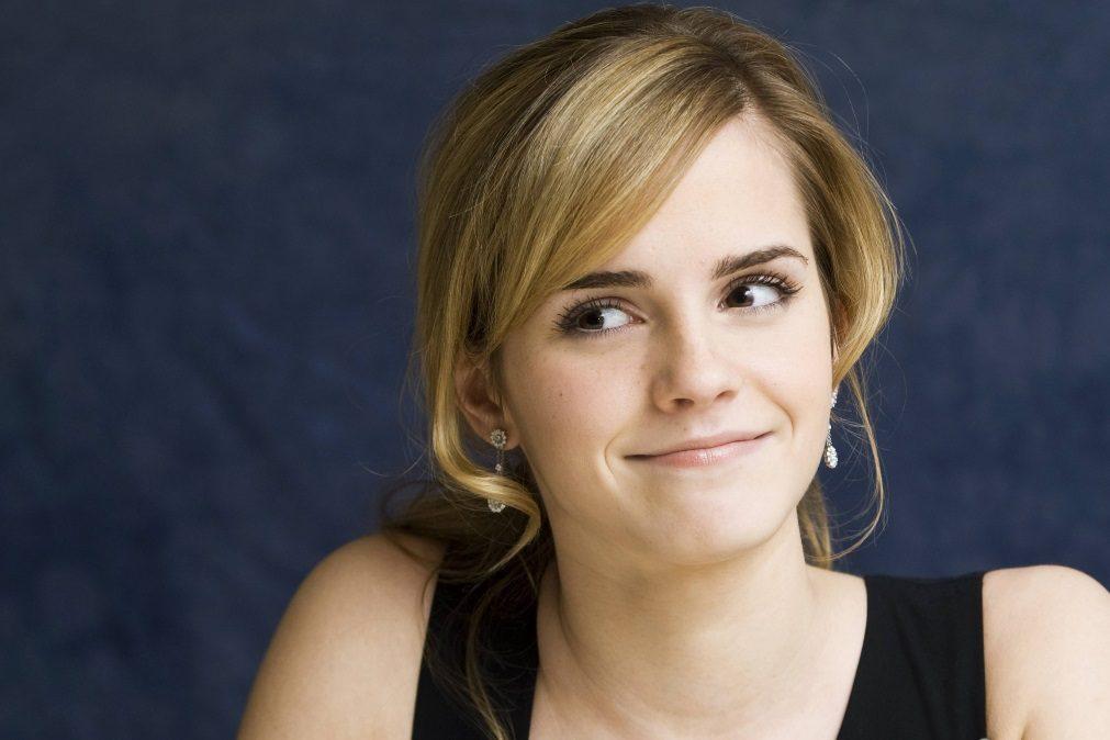 Emma Watson manda beijos a todos os portugueses