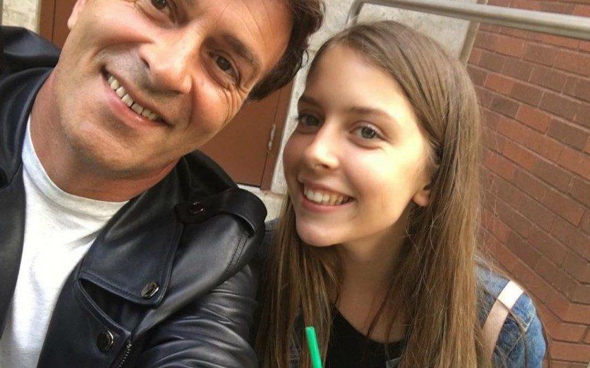 Tony Carreira pediu polícia e segurança para o velório da filha