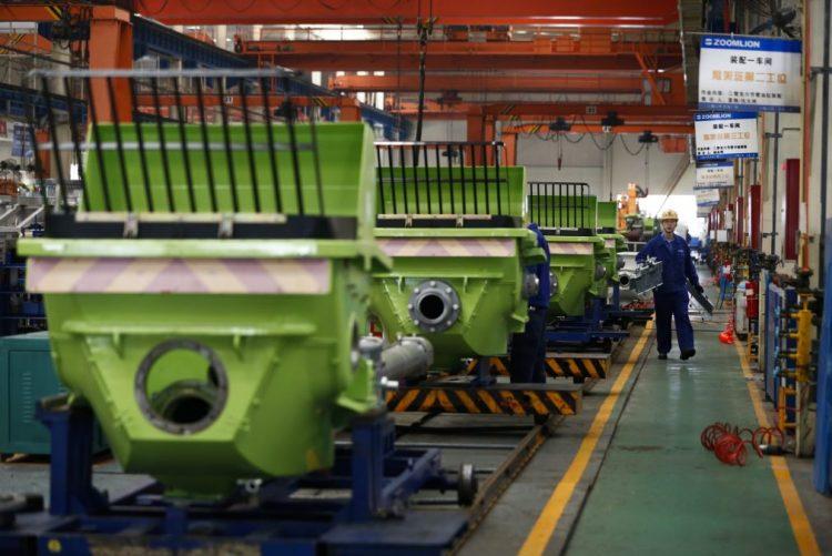 Atividade industrial da China atingiu em novembro nível mais alto em mais de dois anos