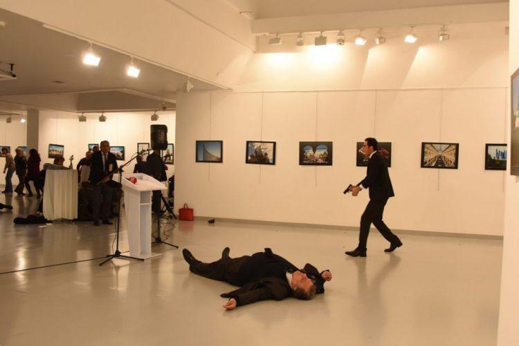 Assassino de embaixador russo protegeu Erdogan por oito vezes desde julho último