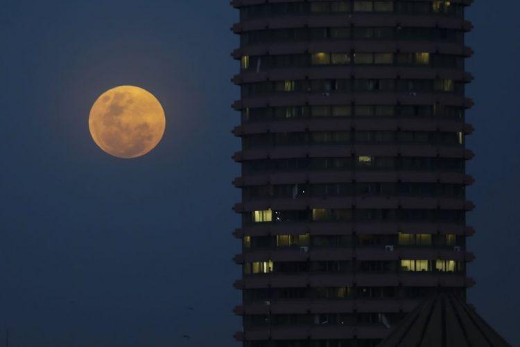 ba0fb6564 Não perca hoje o eclipse lunar e a 'superlua'