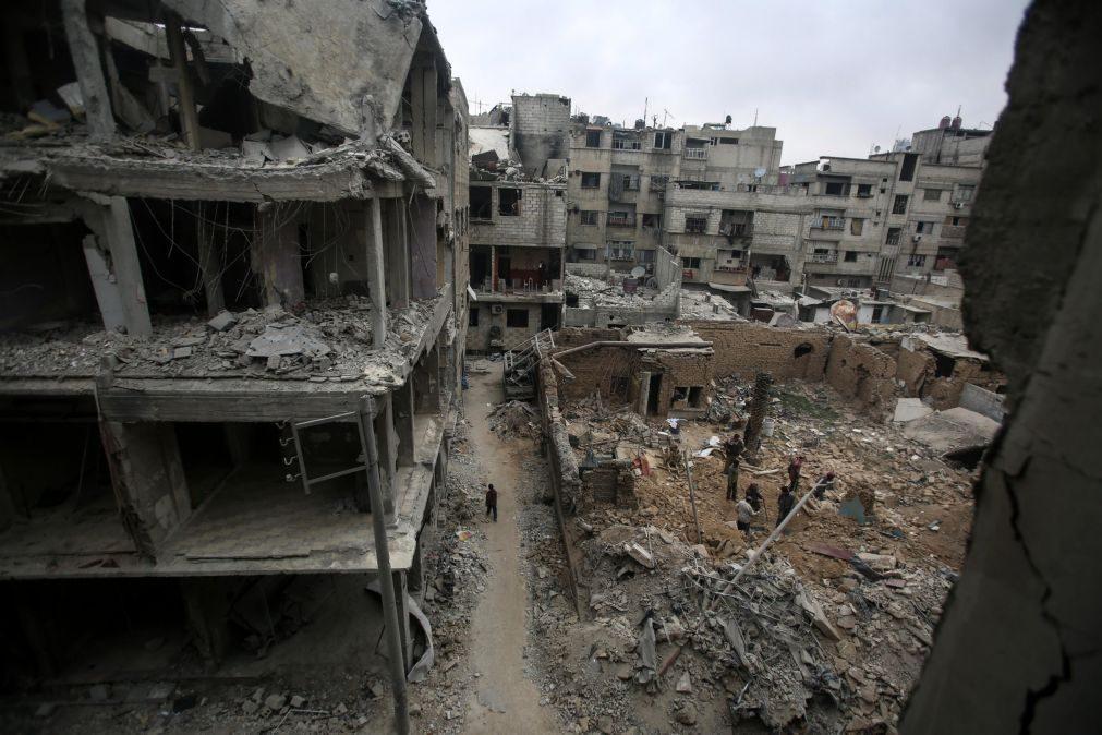 Duas em cada três crianças sírias viram morrer um familiar