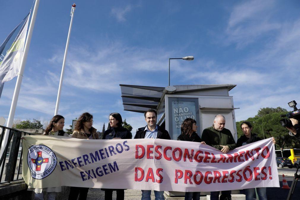 Pelo menos 261 cirurgias canceladas devido a greve de enfermeiros