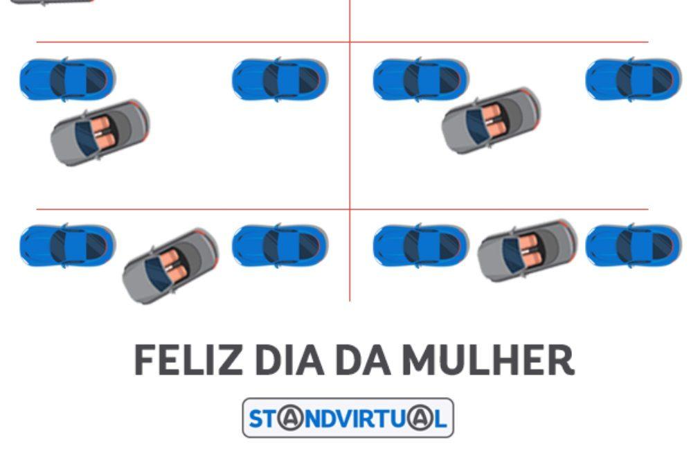 Mulheres não sabem estacionar, diz Standvirtual, desejando-lhes um feliz dia