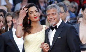 O segredo por detrás da presença dos Clooney no casamento de Meghan e Harry