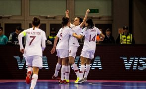 Portugal vence Ucrânia e qualifica-se para a final do Europeu de futsal feminino