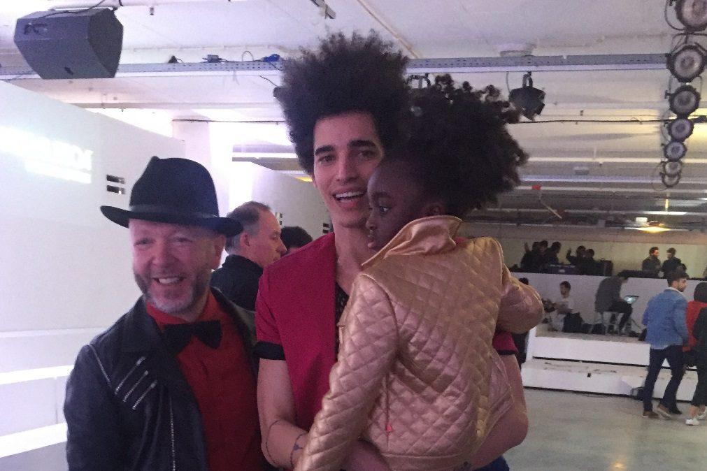 Moda Lisboa: Eduardo Beauté e Luís Borges juntos com a filha