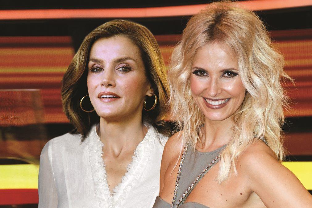 Letizia e Cristina Ferreira partilham escândalo sexual