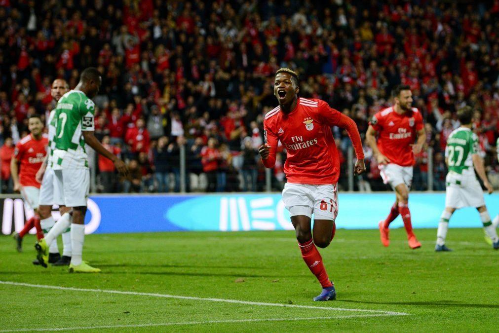 Benfica vence Moreirense por 4-0 e regressa à liderança da Liga [vídeos]