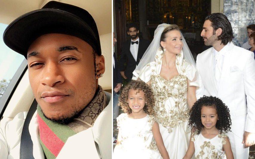Yannick Djaló Ex-companheiro de Luciana Abreu chamado ao tribunal no dia de aniversário da filha