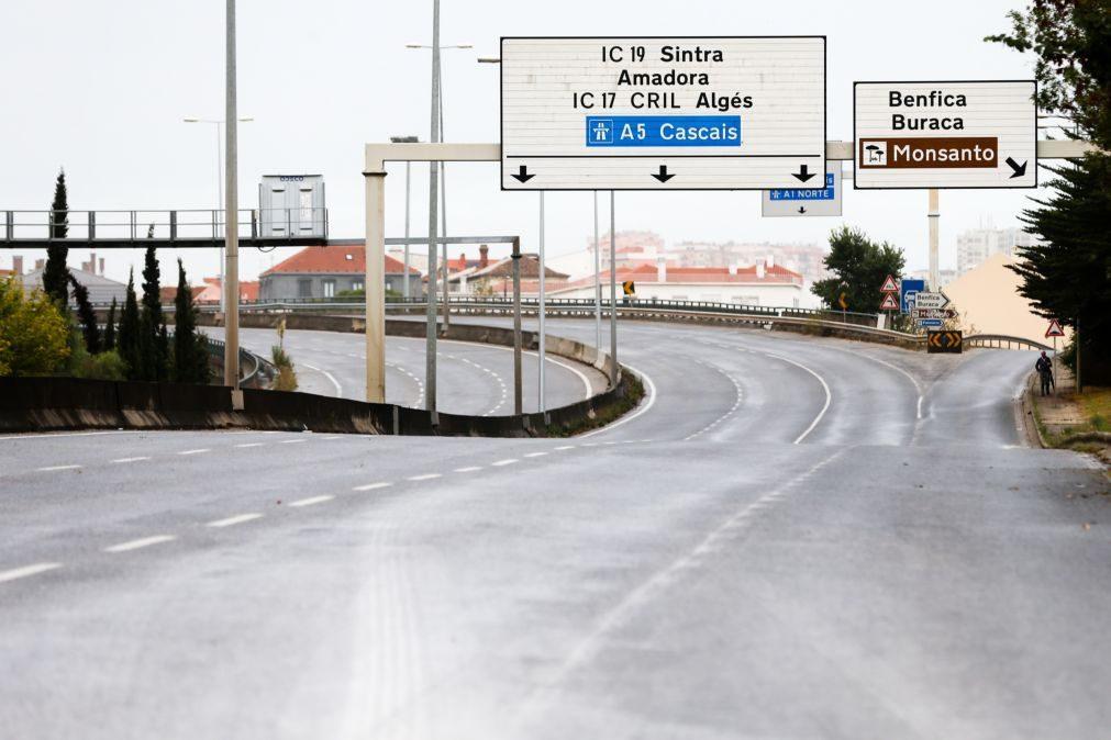 Câmara de Lisboa admite baixar limite de velocidade na Segunda Circular
