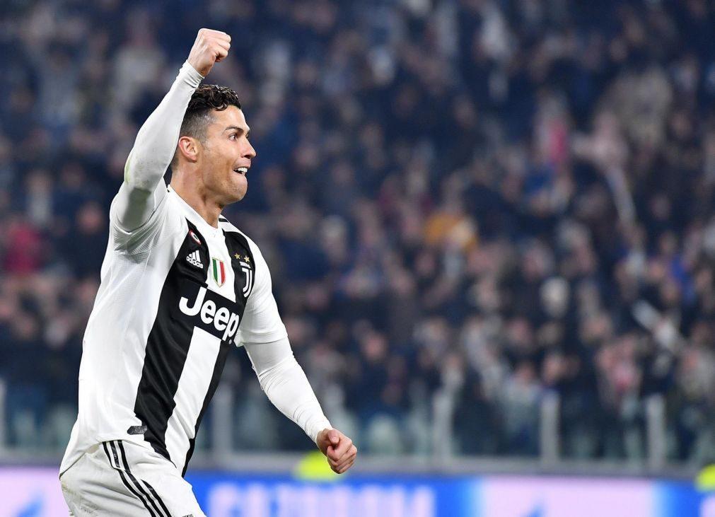 Ronaldo marca na vitória da Juventus frente ao Inter de Milão