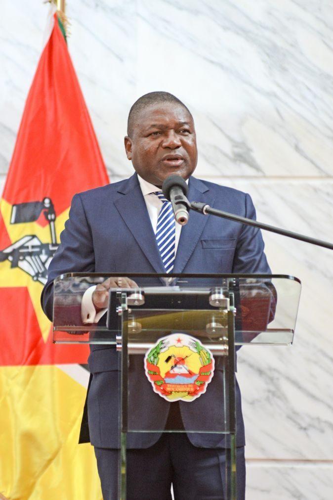 Presidente moçambiquano promete reforço das patrulhas em Cabo Delgado