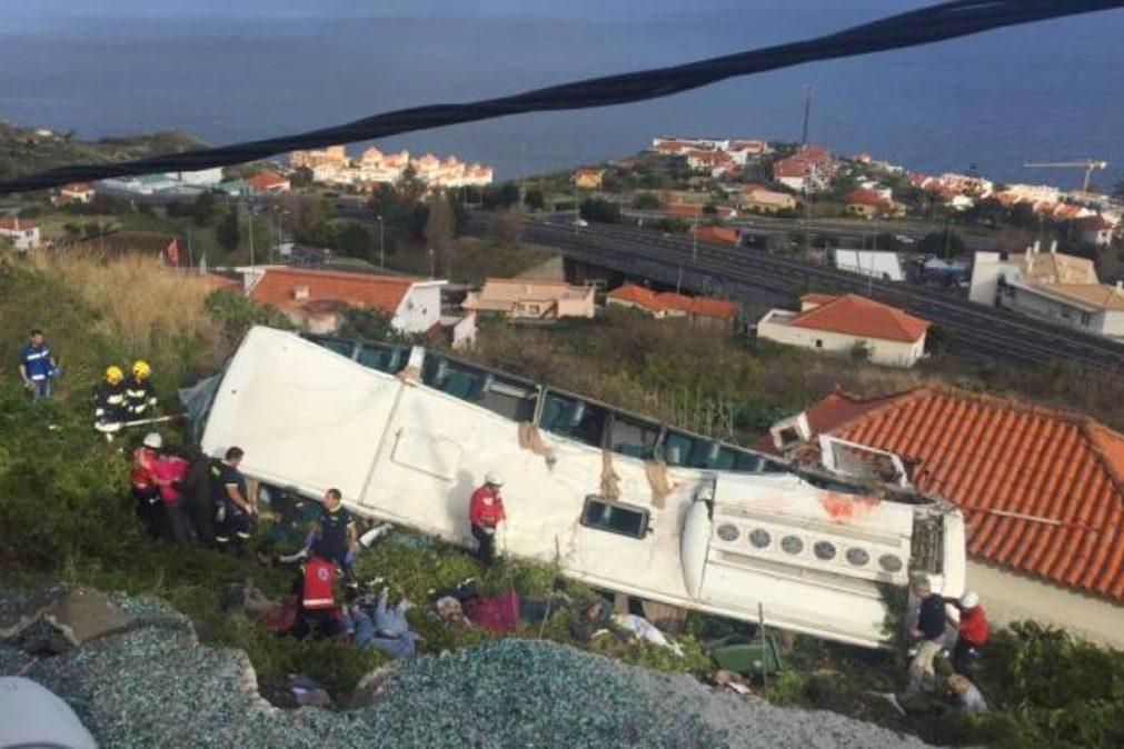 MADEIRA | Sobe para 29 o número de mortes em acidente de autocarro