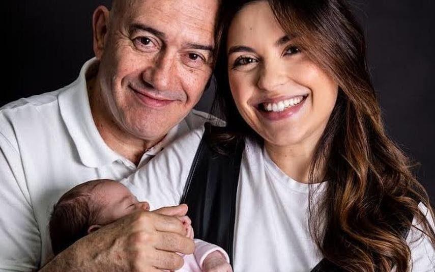 A história por trás da escolha do nome da filha de Sara Barradas e José Raposo