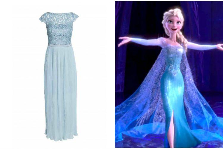 E viveu feliz para sempre... com um vestido azul!