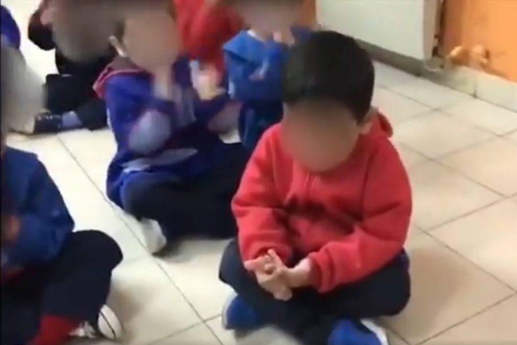 Educadora de infância humilha aluno por causa de futebol [vídeo]