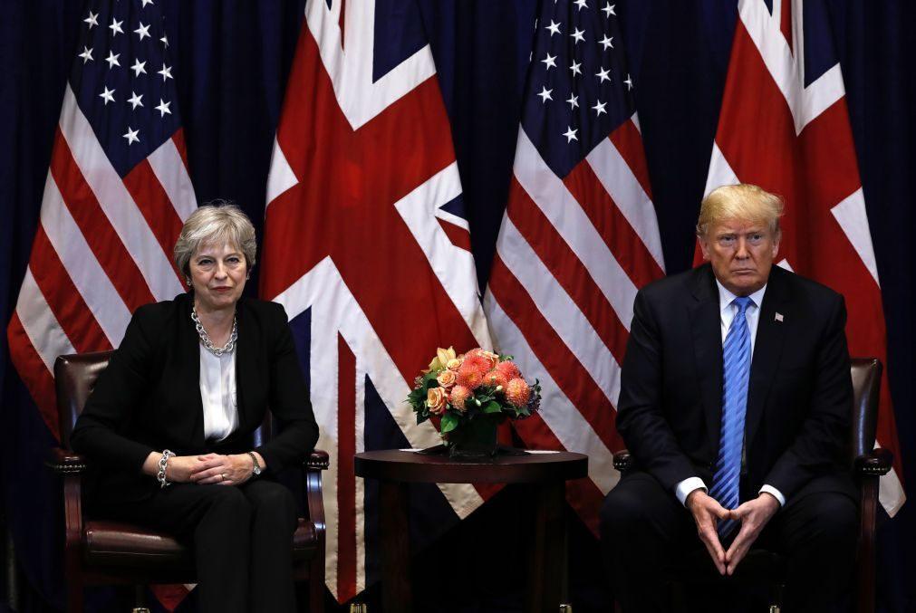 Brexit: Trump diz sentir-se «desolado» com demissão de Theresa May
