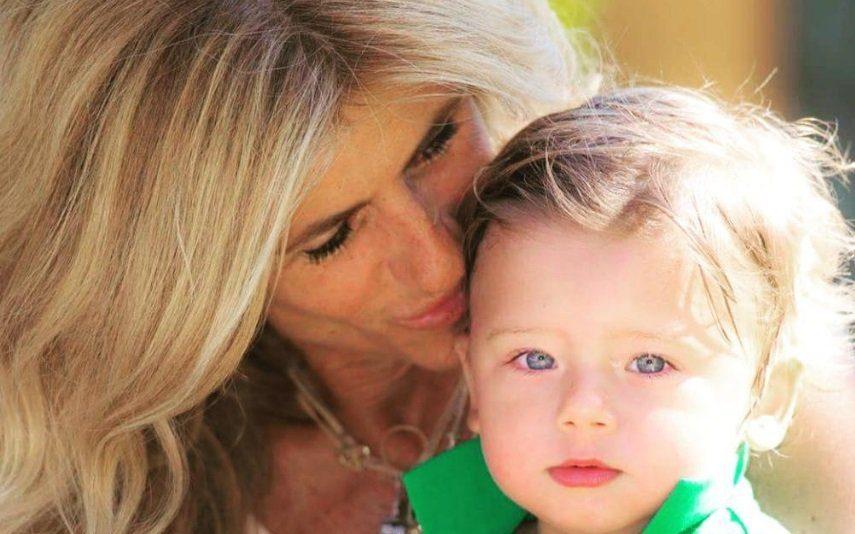 Bibá Pitta Conta episódio hilariante protagonizado pelo neto no dia do batizado