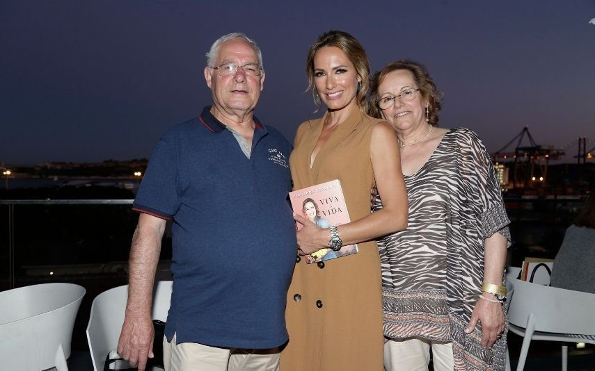 Pai de Fernanda Serrano emociona-se ao recordar a primeira gravidez da atriz