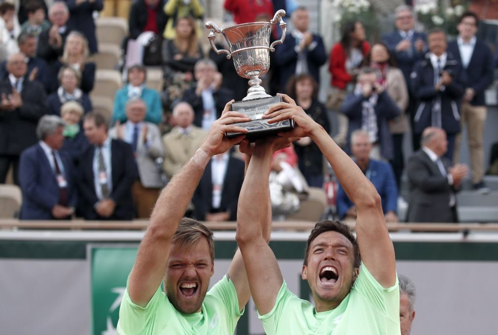 Alemães Krawietz e Mies conquistam título de pares masculinos em Roland Garros