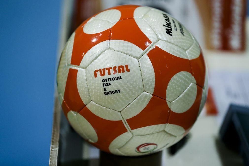Benfica vence Sporting e fica a um triunfo do título de campeão português de futsal