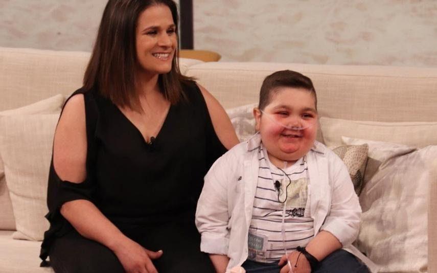A história do menino que sofre de leucemia e que só queria abraçar Cristiano Ronaldo