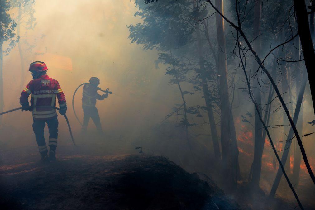 Incêndio em Tabuaço, no distrito de Viseu, continua ativo