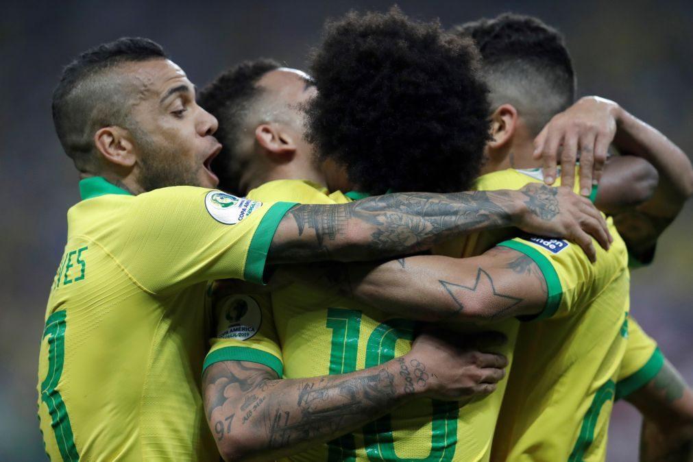 Copa América: Brasil e Venezuela nos 'quartos', Peru fica à espera