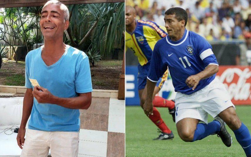Romário tem namorada 31 anos mais nova