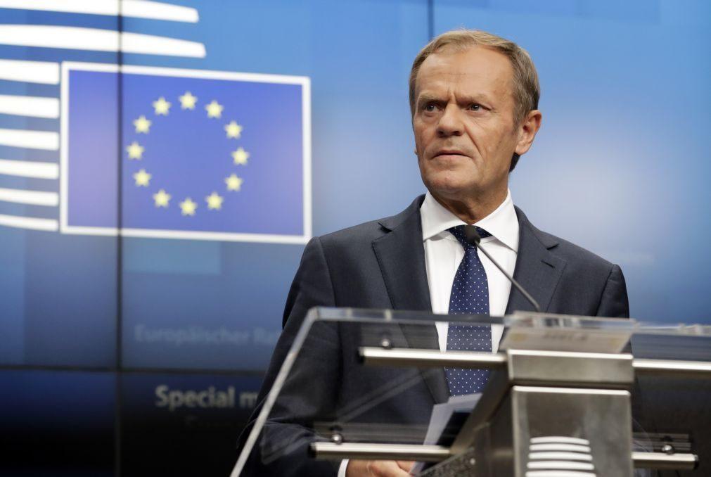Tusk explica hoje ao Parlamento Europeu processo de nomeações, debate adivinha-se 'quente'
