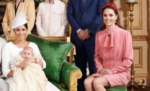 Os looks de Meghan Markle e Kate Middleton no batizado de Archie