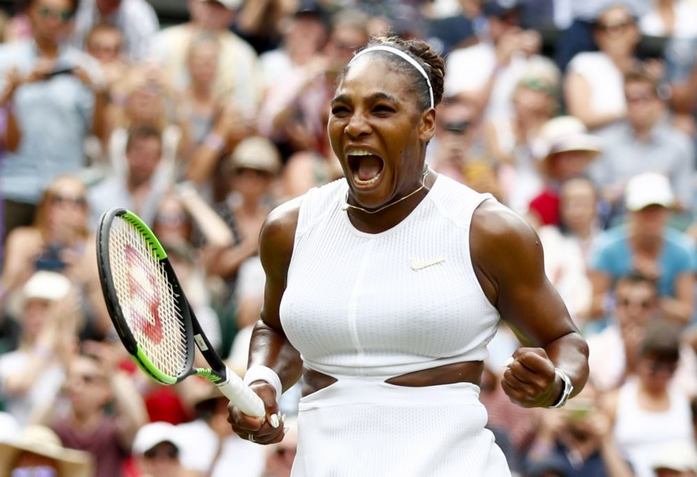Wimbledon: Serena Williams apura-se para a 11.ª final em Londres