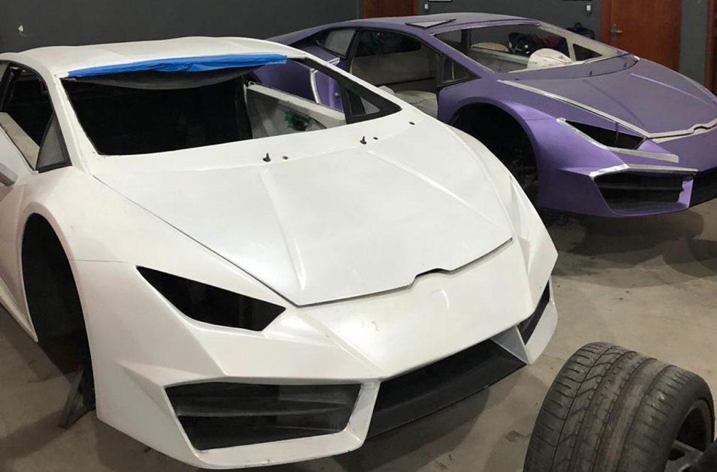 Brasil. Autoridades descobrem fábrica que falsificava Lamborghinis e Ferraris