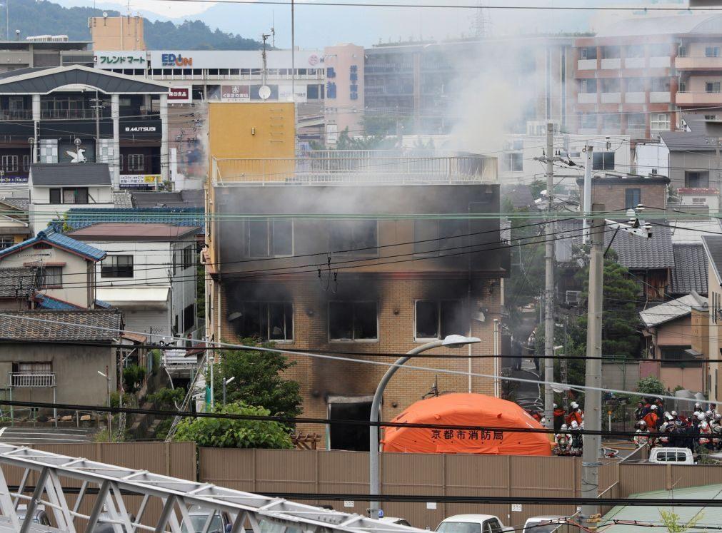 ALERTA | Pelo menos 24 mortos em incêndio num estúdio de animação no Japão