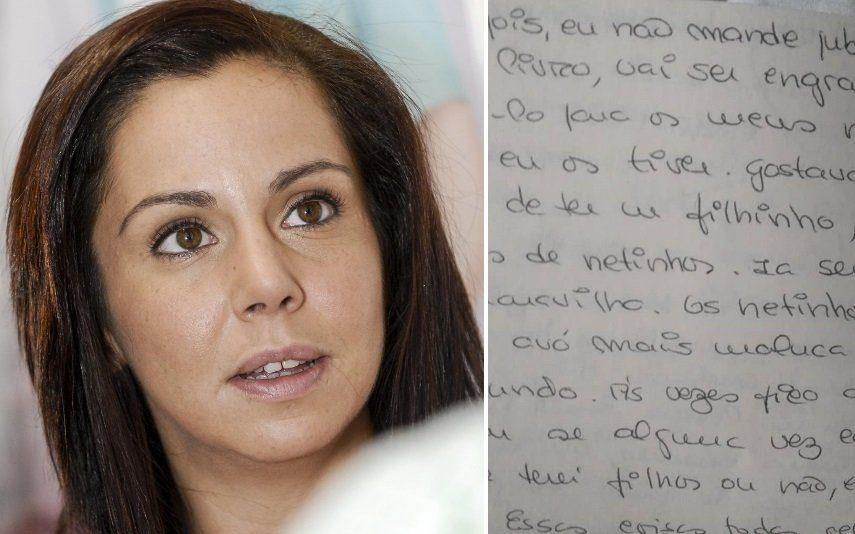 Sara Norte Descobre diário da mãe, que morreu há sete anos, e faz-lhe uma promessa