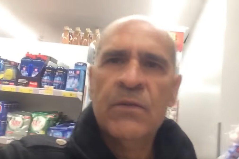 Empregados do Minipreço deixam homem preso dentro do supermercado e vão almoçar