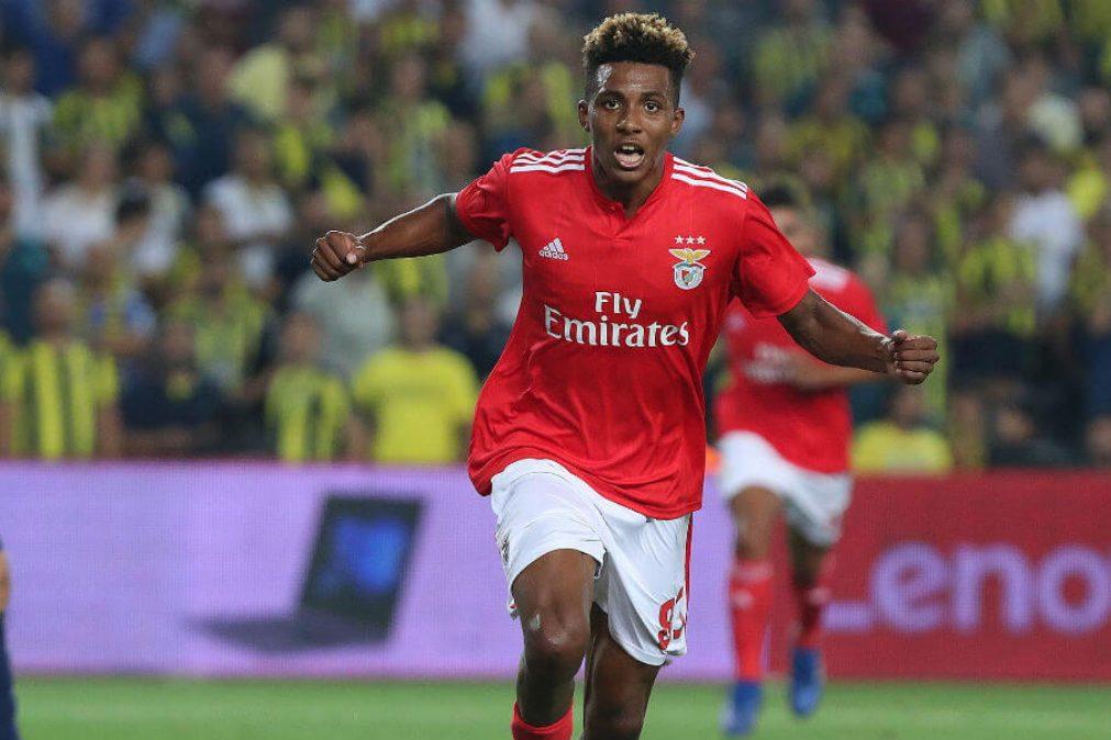 Gedson no Tottenham. Benfica oficializa empréstimo