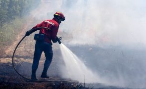 Dominado incêndio no Sabugal, Guarda