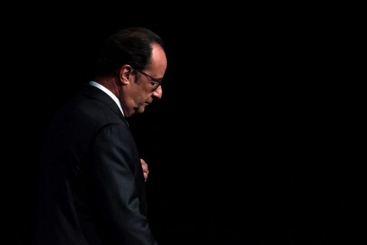 Presidente francês não é candidato a novo mandato