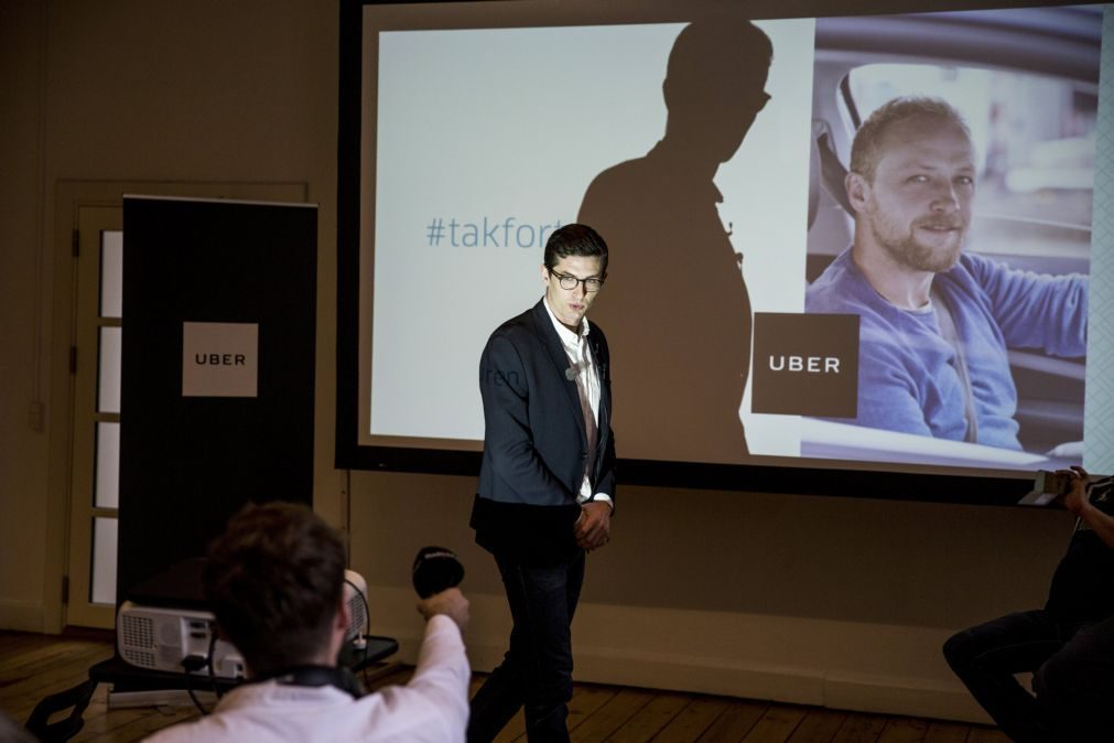 Uber vai retirar-se provisoriamente da Dinamarca