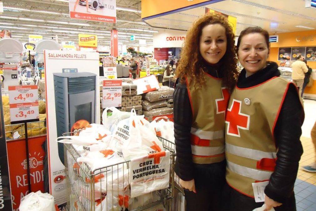 Cruz Vermelha promove recolha de alimentos | Saiba como ajudar