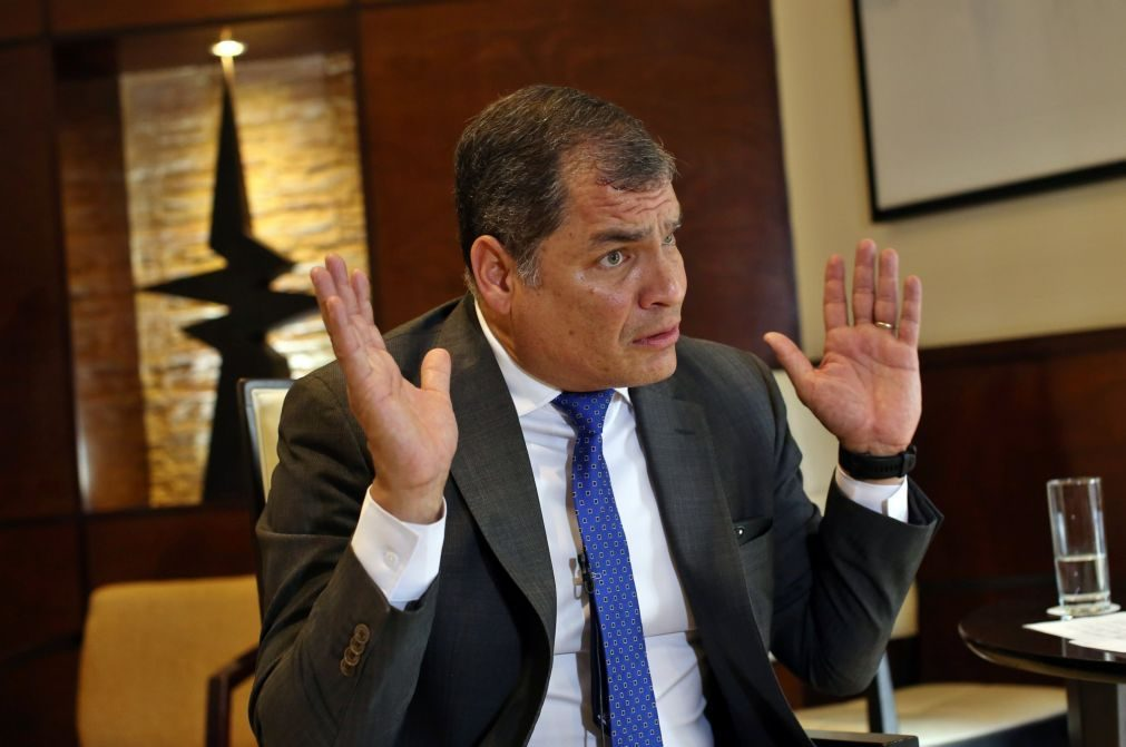 Tribunal do Equador ordena prisão preventiva do ex-Presidente Rafael Correa