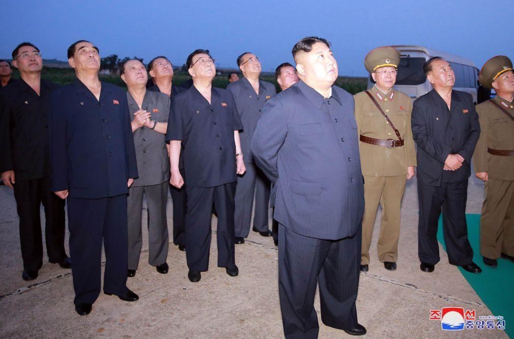 Coreia do Norte faz mais disparos de projéteis - militares sul-coreanos