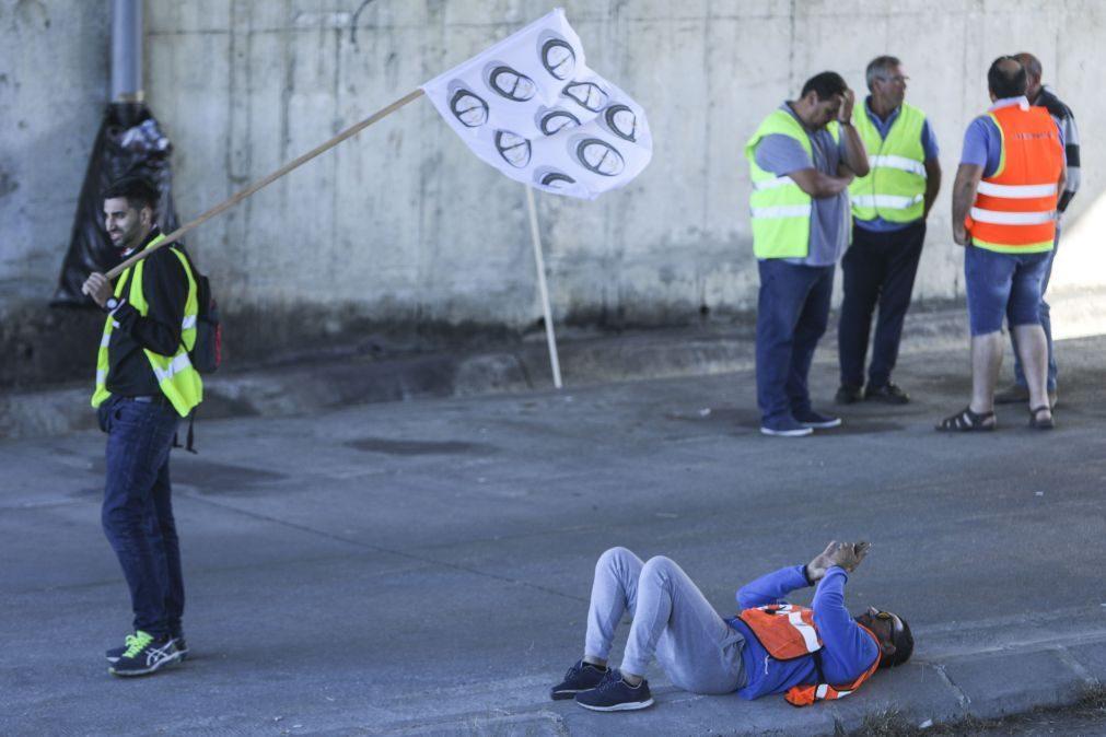 Quinto dia de greve dos motoristas começa com menos um sindicato em protesto