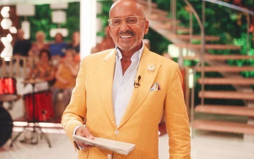 Manuel Luís Goucha Emocionado com história marcante, dá 1000 por mês a família em necessidades