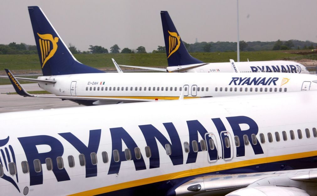 Tribunal da Irlanda bloqueia greve de pilotos da Ryanair
