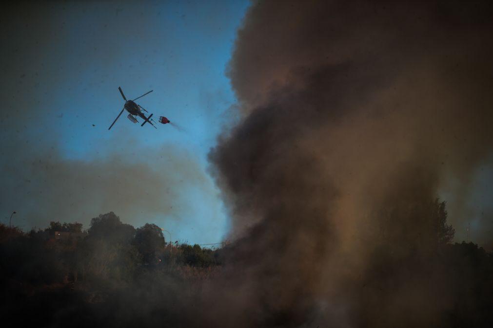 Substituído helicóptero de combate a incêndios de Évora após incidente com paraquedista